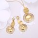 Wholesale Classic Gold Plant Jewelry Set TGGPJS133 0