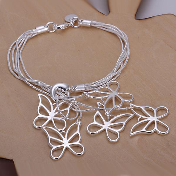 Wholesale Trendy Silver Insect Jewelry Set TGSPJS300 1