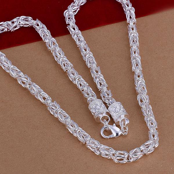 Wholesale Trendy Silver Round Jewelry Set TGSPJS322 1