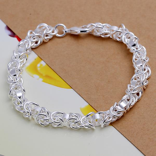 Wholesale Trendy Silver Round Jewelry Set TGSPJS325 0