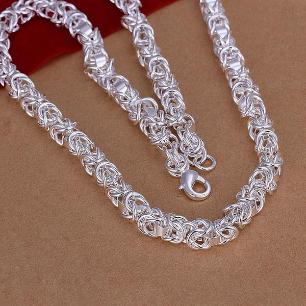 Wholesale Trendy Silver Round Jewelry Set TGSPJS325 1