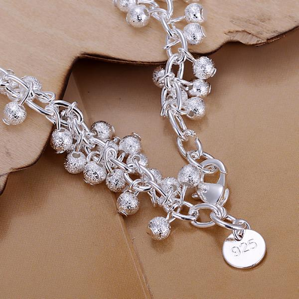 Wholesale Trendy Silver Ball Jewelry Set TGSPJS482 1