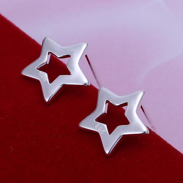Wholesale Romantic Silver Star Jewelry Set TGSPJS556 2
