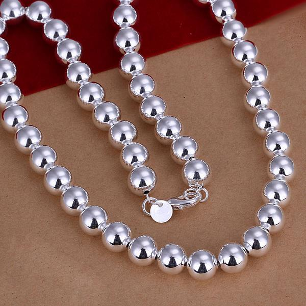 Wholesale Romantic Silver Ball Jewelry Set TGSPJS593 1