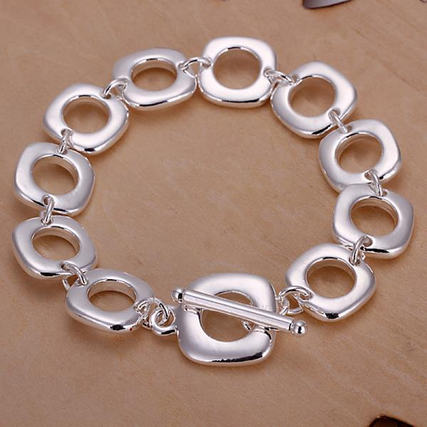 Wholesale Trendy Silver Round Jewelry Set TGSPJS613 0