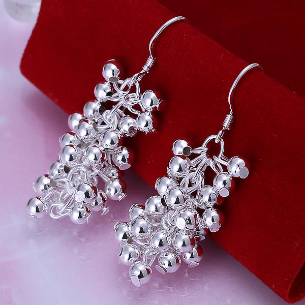 Wholesale Trendy Silver Round Jewelry Set TGSPJS796 1