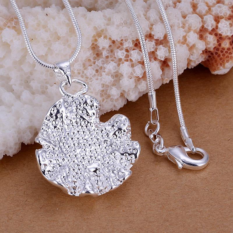 Wholesale Romantic Silver Plant Jewelry Set TGSPJS023 0