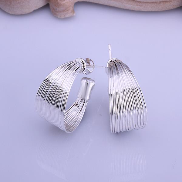 Wholesale Romantic Silver Round Jewelry Set TGSPJS056 0