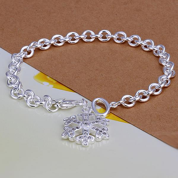 Wholesale Trendy Silver Plant Crystal Jewelry Set TGSPJS134 0