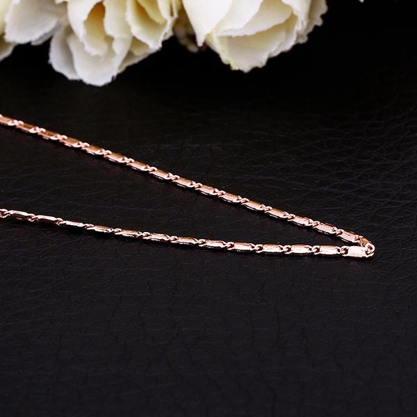 Wholesale Classic 24K Gold Geometric Chain Nceklace TGCN032 0
