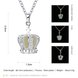 Wholesale Classic Silver Geometric Necklace TGLP094 6