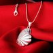 Wholesale Trendy Silver Fish Crystal Necklace TGSPN449 1