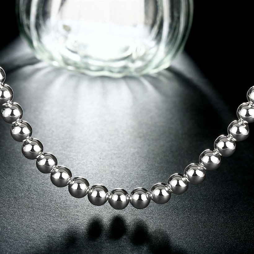 Wholesale Romantic Silver Ball Necklace TGSPN666 5