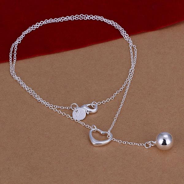 Wholesale Classic Silver Ball Necklace TGSPN736 0