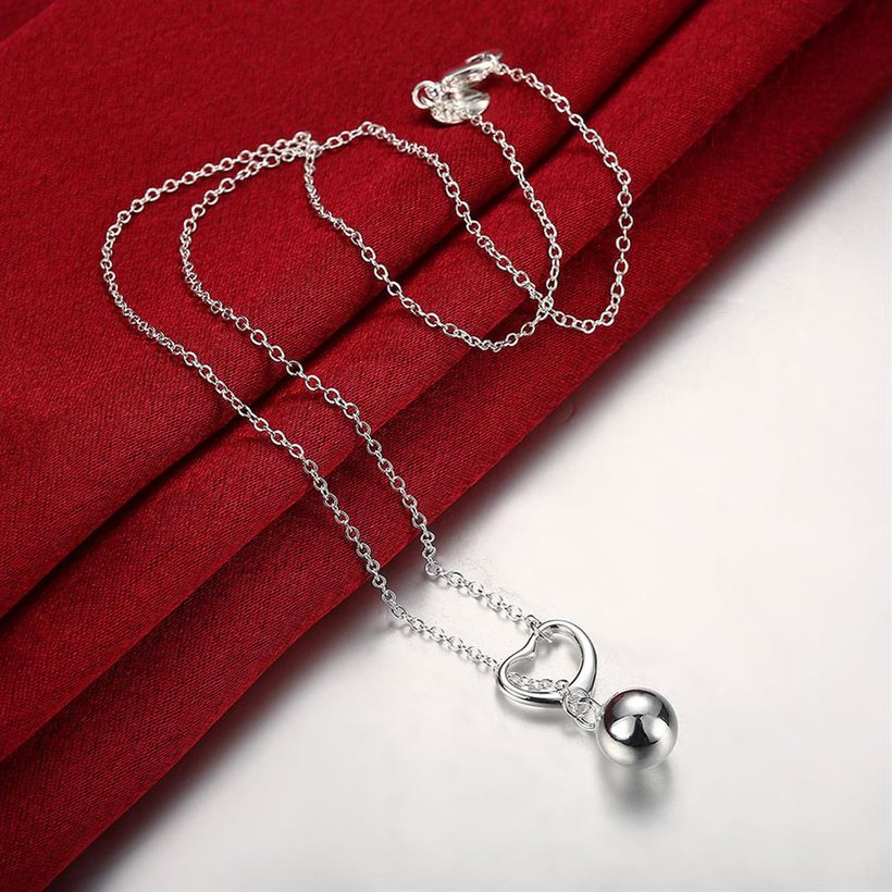 Wholesale Classic Silver Ball Necklace TGSPN736 3