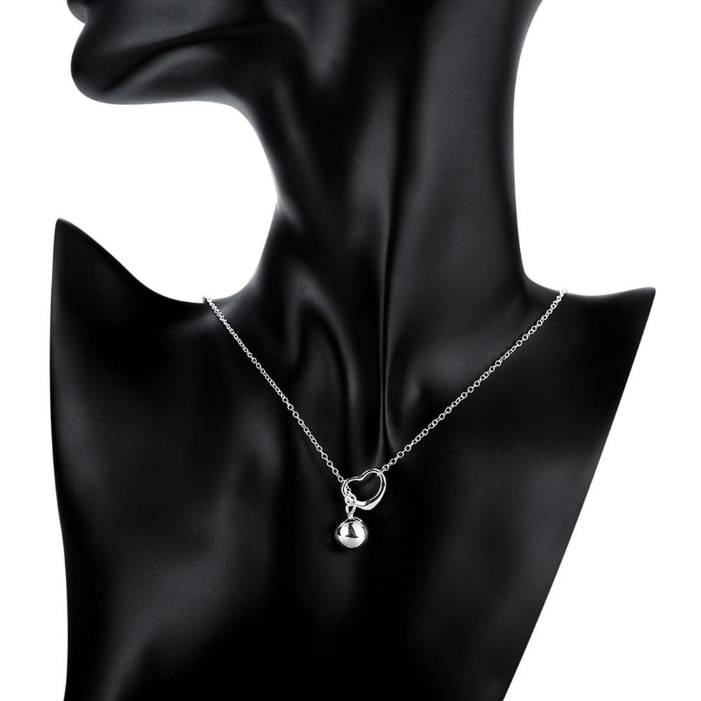 Wholesale Classic Silver Ball Necklace TGSPN736 5