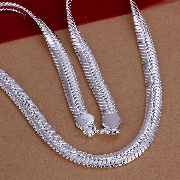 Wholesale Classic Silver Animal Necklace TGSPN037 1
