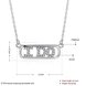 Wholesale 925 Silver I Do CZ Necklace TGSSN147 0