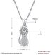 925 Silver Cat CZ Necklace 0