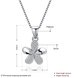 Wholesale 925 Silver Five Grass CZ Necklace TGSSN149 0