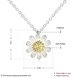 Wholesale 925 Silver Chrysanthemum Necklace TGSSN157 0