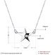Wholesale 925 Silver Star CZ Necklace TGSSN004 0