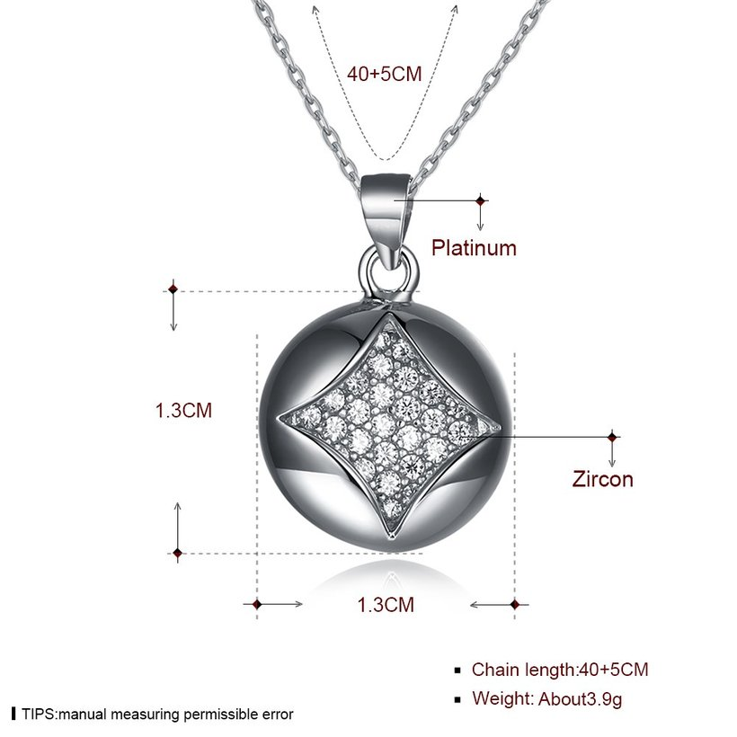 Wholesale Boutique studded stars CZ Pure S925 Sterling Silver Pandent Necklace TGSSN025 6