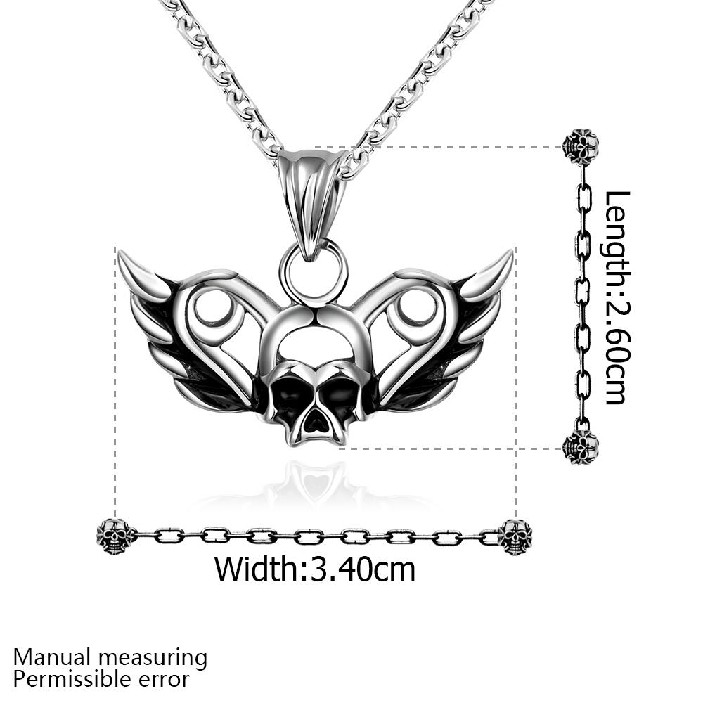 Wholesale Vintage 316L stainless steel Animal Necklace TGSTN094 0