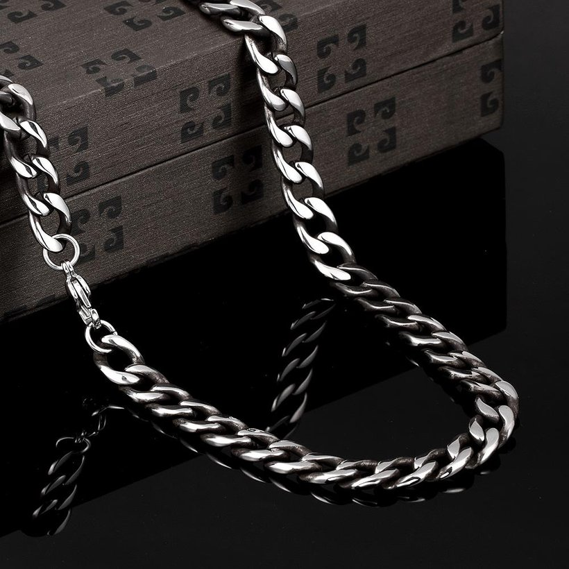 Wholesale Punk 316L stainless steel Geometric Necklace TGSTN111 2