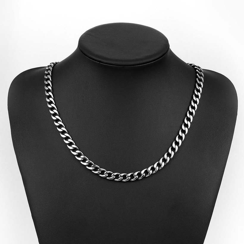 Wholesale Punk 316L stainless steel Geometric Necklace TGSTN111 4