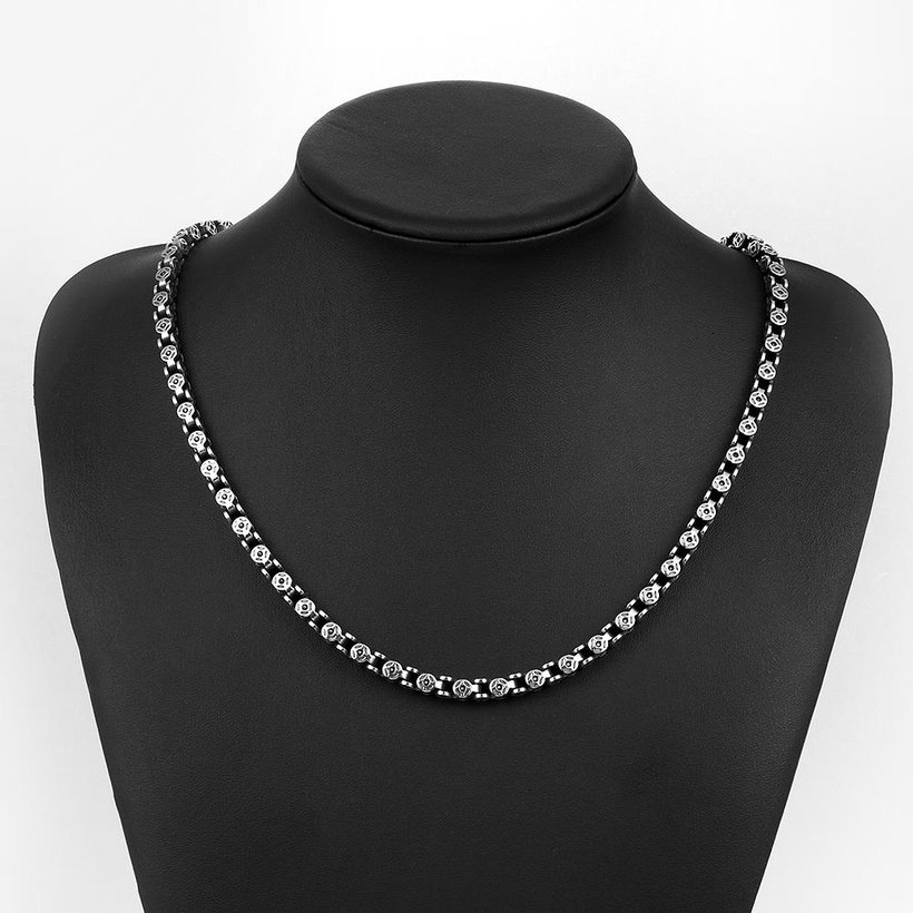 Wholesale Punk 316L stainless steel Geometric Necklace TGSTN113 4