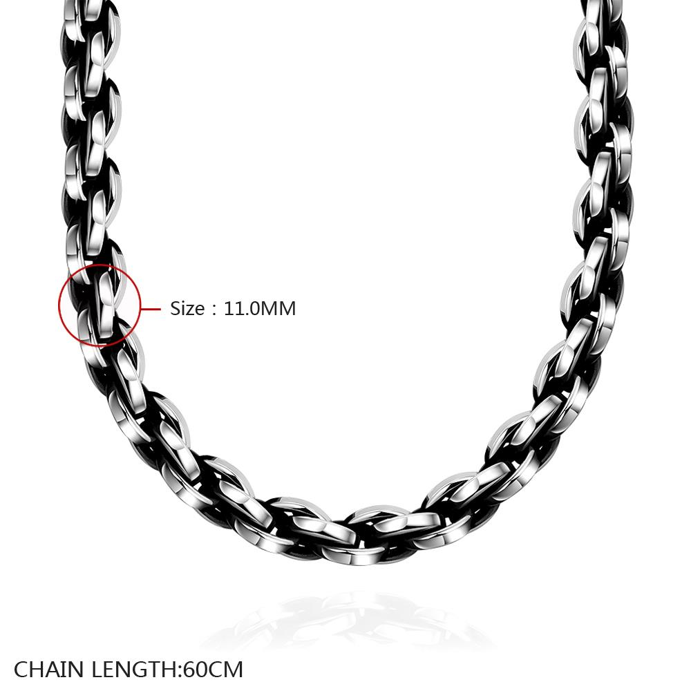 Wholesale Punk 316L stainless steel Geometric Necklace TGSTN117 0