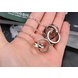 Wholesale Hot selling fashion stainless steel couples Necklace TGSTN125 2