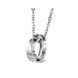Wholesale Fashion stainless steel CZ couples Necklace TGSTN026 0