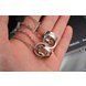 Wholesale Fashion stainless steel CZ couples Necklace TGSTN026 4