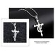 Wholesale Aquarius Constellations 316L Stainless Steel Necklace TGSTN069 2