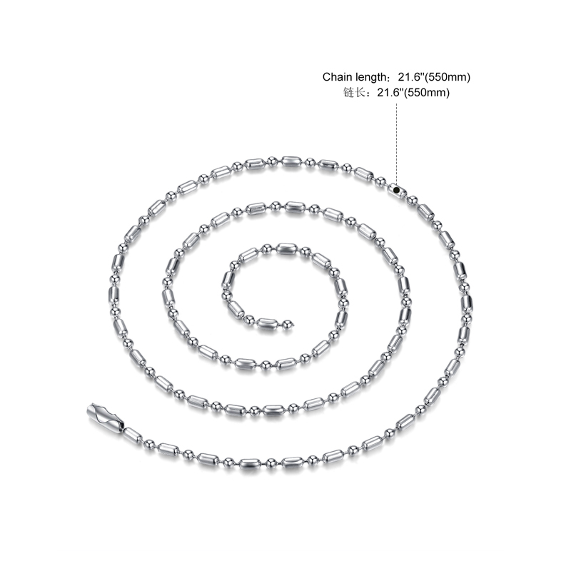 Wholesale Gemini Constellations 316L Stainless Steel Necklace TGSTN073 0