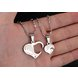 Wholesale Great Gift Love Symbols couples Necklace stainless steel Necklacepair TGSTN043 1
