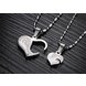 Wholesale Great Gift Love Symbols couples Necklace stainless steel Necklacepair TGSTN043 2
