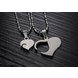 Wholesale Great Gift Love Symbols couples Necklace stainless steel Necklacepair TGSTN043 4