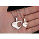 Wholesale Great Gift Love Symbols couples Necklace stainless steel Necklacepair TGSTN044 0