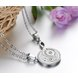 Wholesale The best gifts stainless steel collage couples Necklace TGSTN039 2