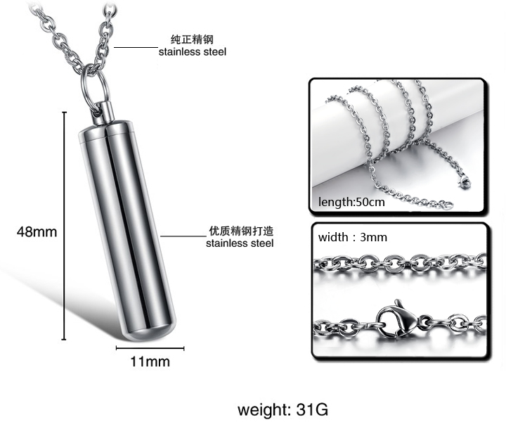 Wholesale Free shipping stainless steel Necklace TGSTN126 2