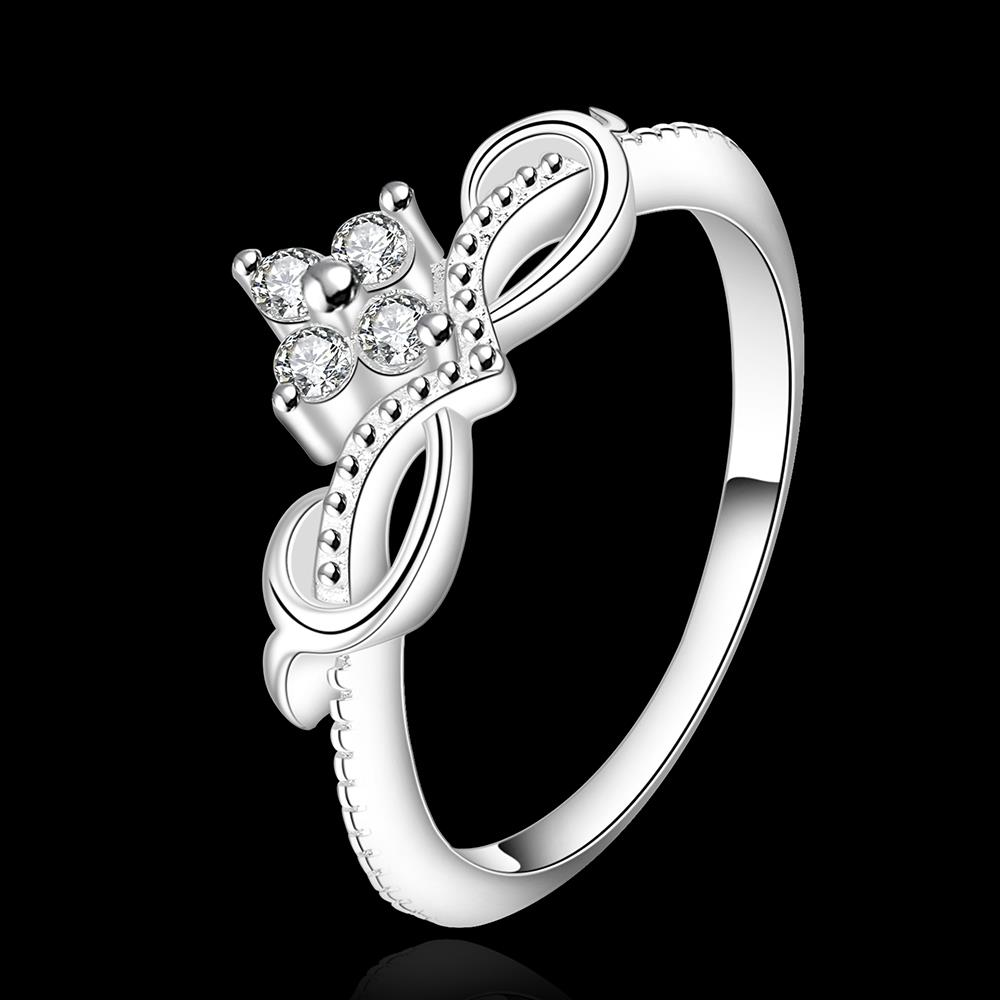Wholesale Fashion Rings from China for Women Endless Love Symbol Wedding Personalized  Ring Jewelry Gift for Mother TGSPR201 0