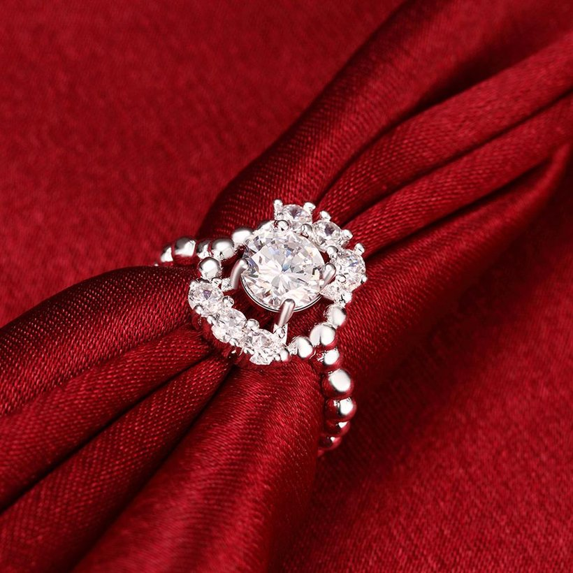 Wholesale 2020 Classic Luxury Ring AAA Zircon rings Wedding Jewelry Engagement  banquet For Women TGSPR364 3