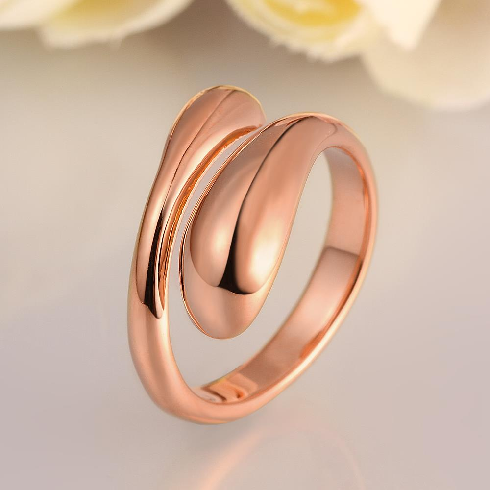 Wholesale Classic Rose Gold Geometric Ring TGGPR207 1