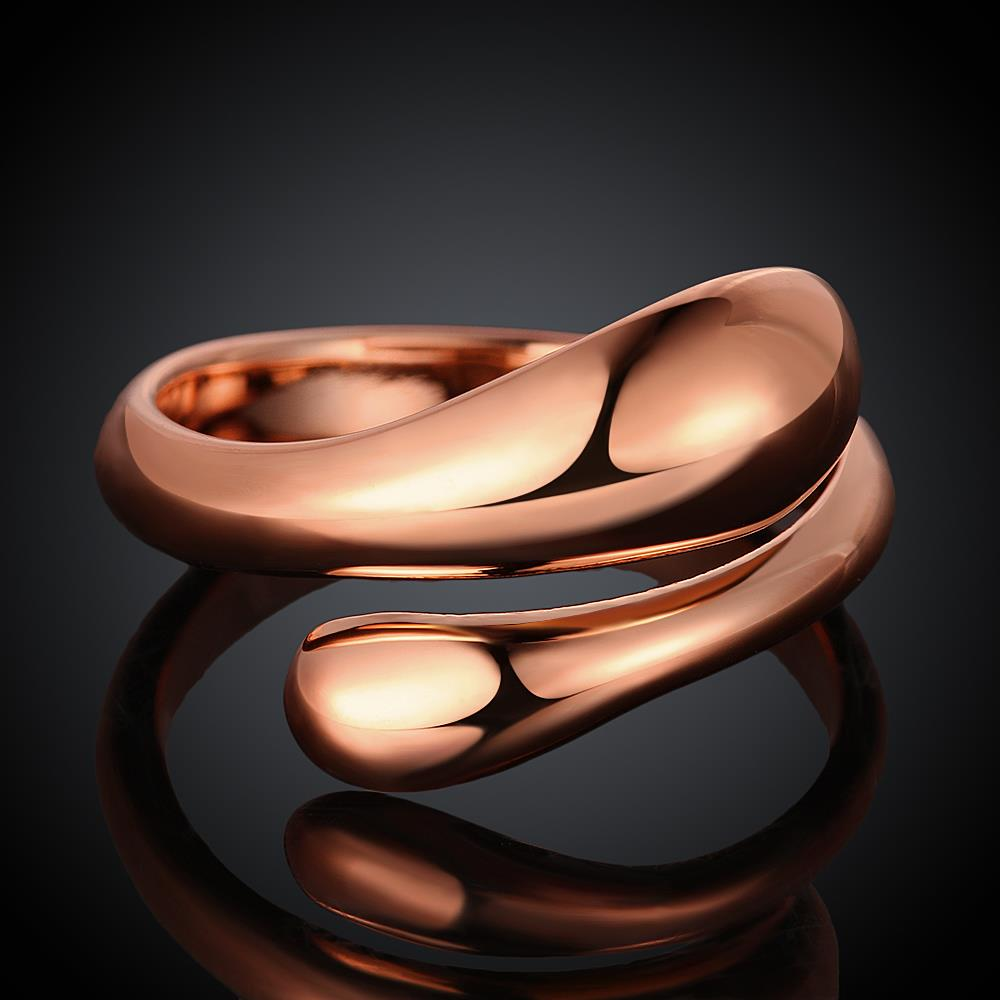 Wholesale Classic Rose Gold Geometric Ring TGGPR207 4
