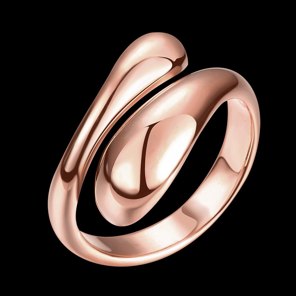 Wholesale Classic Rose Gold Geometric Ring TGGPR207 5