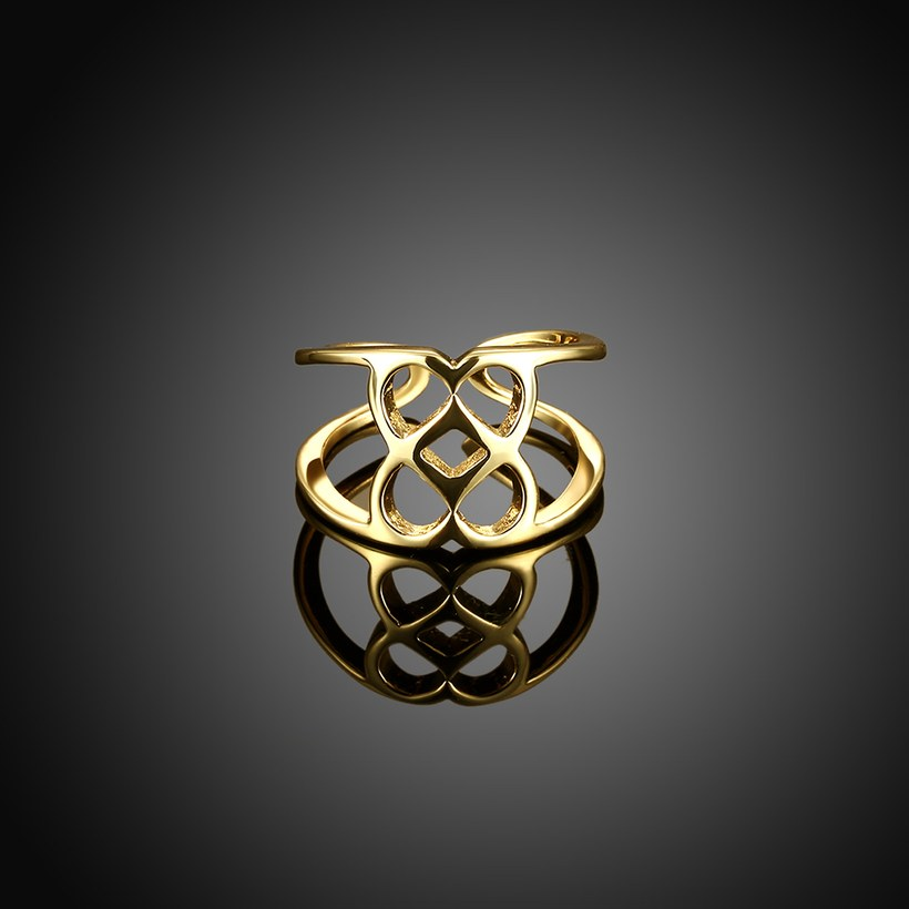 Wholesale Trendy Antique Gold Geometric Ring TGGPR379 1