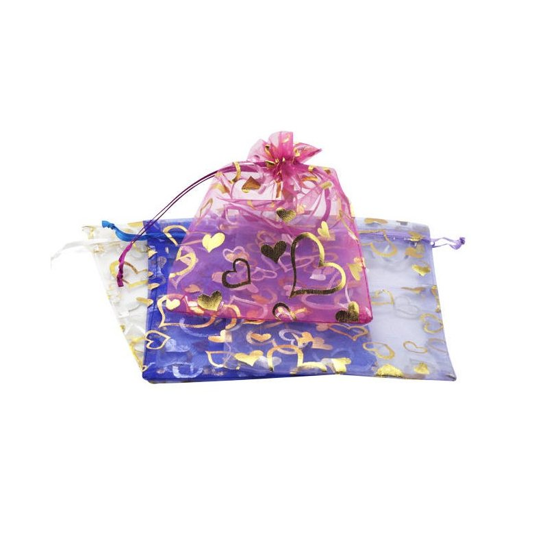 Wholesale Jewelry chiffon gift bags TGGB001